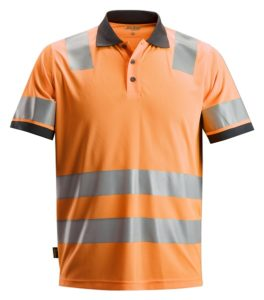 Snickers 2730 AllroundWork, High-Vis Polo Shirt CL 2
