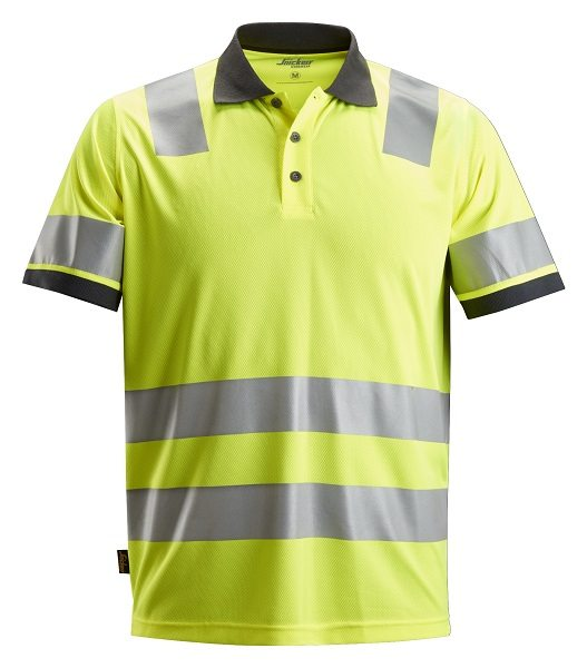 c690e3c04 Home>Products>Clothing & Workwear>Shop by Brand>Snickers Workwear>Snickers  Hi-Vis>Snickers 2730 AllroundWork, High-Vis Polo Shirt CL 2